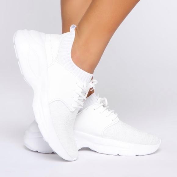 White Trainers Sneakers | Poshmark